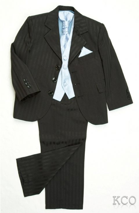 Richmond Black/Blue~Boys Suits